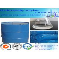 Quality Hydroxyethyl Acrylate Water Solubility Paint Solvent CAS 818-61-1 C5H8O3 for sale