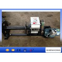 220 Voltage Electric Cable Pulling Winch / Cable Drum Winch Stringing Equipment
