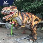 Quality Wildlife dinosaur park prehistoric simulation dinosaur statue for sale