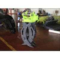 Buy cheap Single Cylinder Hydraulic Grapple Attachment360° Rotation Excellent Grasping Ability from wholesalers