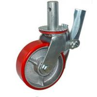 China Polyolefin Scaffold Tower Casters 8 Inch Easy Movement Across Concrete on sale