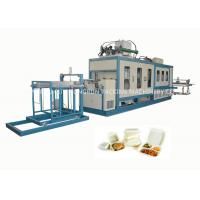 Buy EPS Foam Food Container Forming and Cutting Machine 750 / 1000mm at wholesale prices