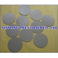 Quality Ti Powder Filter Disc for sale