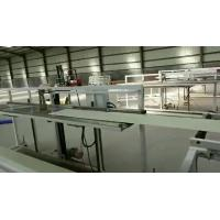 Quality Solid Wall Indoor Decorative Materials Extrusion Line For Doors Windows for sale