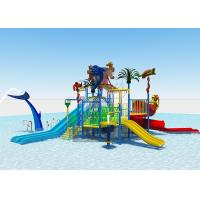 Quality Creative Outdoor Water Park /  Family Resorts Water Parks Easy Installation for sale