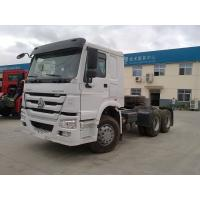 Quality Durable Howo Tractor Head Truck , 40 Tons 10 Wheel 371hp Prime Mover Truck for sale