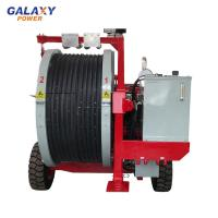 China Max Intermittent Tension 2x40kn Transmission Line Equipment With 2x5 Groove Number on sale