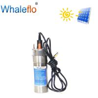 Quality Whaleflo Flow 8/12/20LPM 12V/24V DC Submersible Solar Energy Water Pump for Outdoor Garden Deep Well Car Wash for sale