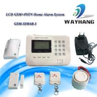 Quality LCD GSM &PSTN Dual Network Home Security System House Alarm for sale