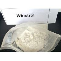 Quality Legal Winstrol Stanozolol Weight Loss Steroids / Fat Burner Powder For Men 10418-03-8 for sale
