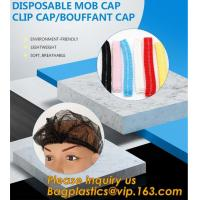 China Disposable MON CAP, CLIP CAP,BOUFFANT CAP,medical disposable surgical head caps,nonwoven mob cap,hair net NURSE CAP, MED on sale