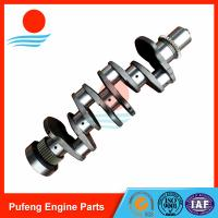 Quality OEM material Komatsu 4D107 crankshaft with gear 3974539 5289840 for sale