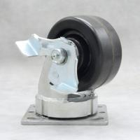 China 4 Inch High Temp Casters / Bakery Oven Trolley Wheels 150 Max Resistant on sale