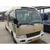 Quality japan toyota coaster bus petrol toyota  bus left hand drive for sale