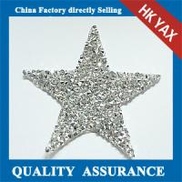 China wholesale crystal rhinestone patch;china supplier patch rhinestone crystal; cheap rhinestone crystal patch on sale