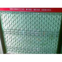 Quality Diamond hole SS316 Flexi-woven Decorative Architectural mesh fabric for facade wall for sale