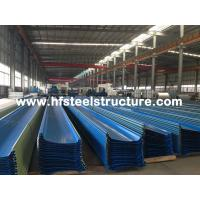 Hot Dip Galvanized / Rolling Metal Roofing Sheets With Electric ...