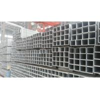 Quality Square and Rectangle Shape Galvanized Steel Pipe Hot Dipped in ASTM GB Standard for Structure for sale