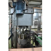 China Beer Can / Carbonated Drink Can Filling Machine , Seam Sealing Machine with Pressure or Hot Filling on sale