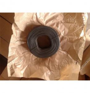 Quality Australia Market 1.57mm x 1.42kgs Coil Soft Black Annealed Tie Wire for sale