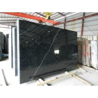 Quality China Marble Tile/Nero Marquina,/Black Marble with White Vein,China black Marble Products for sale