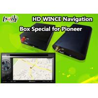 Quality Pioneer Car GPS Navigation Box for Support Stereo Audio / DVD / MP3 MP4 Based on WINCE 6.0 for sale