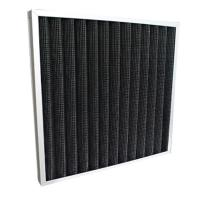 Quality High Efficiency Pleated Panel Activated Carbon Air Filter Hvac Pre Filter for sale