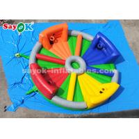 Quality 8*8m Chow Down Inflatable Hungry Hippos Game For Kids And Adults Playing for sale