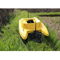 Quality Yellow catamaran rc remote control fishing boat DEVC-303M3 style radio control for sale