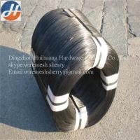 Buy cheap 16 gauge black annealed tie wire product