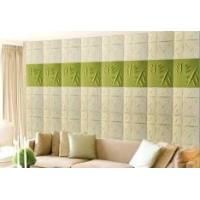 Quality Fashion Modern Textured 3D Wall Decor Panels / 3 Dimensional Wallpaper Heat-proof for sale