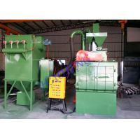 Quality Tracked Wheel Shot Blasting Machine With PLC Control System Rust Removing for sale