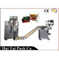 Buy cheap Automatic Filling Function Herbs Tea Packaging Machine Triangle Dimensional product