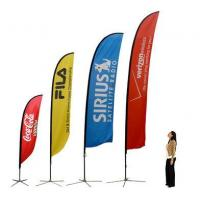 Quality China Quill Flying Banners and china feather banner for sale