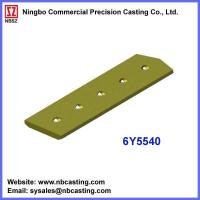 China Cater Pillar dozer spares cutting edges 6Y5540 on sale
