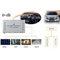 Quality Honda Decoder / Honda Video Interface for City Left - Hand with Touch Navigation , Rear View for sale