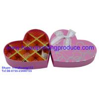 Quality Heart-Shaped  Chocolate Boxes for sale