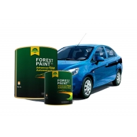 Quality Acrylic Flash Clear Pearl Automotive Paint High Solid Quick Dry for sale