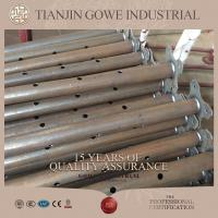 Quality Galvanized adjustable steel scaffolding props / formwork props for sale