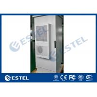 China Sandwich Structure Outdoor Data Cabinet Air Conditioner Cooling IP55 19'' Rack on sale