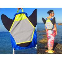 Quality Water Resistant Monofin Backpack , Swim Fin Bag Easy Opening And Carrying for sale