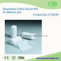 Disposable Cotton Gauze Rolls for Medical Use