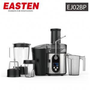 Quality Easten Power Motor 800W Multi-functional Juicer EJ02BP / S.S Filters 2.0 Liters Fruit Juicer With Glass Grinder for sale
