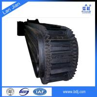 Quality China supplier high quality 90 degree rubber nylon conveyor belt for sale for sale