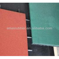 Buy cheap play sports rubber floor tiles paver for sale from wholesalers