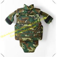 Quality NIJ level 4 forest woodland camo bullet proof jacket military tactical vest body armor for sale