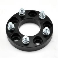 Quality Forged and Silver CNC Machining 114.3 X5 Black Wheel Hub Adapter Spacer for sale