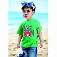 China 2012 Fashionable Boys'/Kids T-shirt Design, Children Clothes for Summer/OEM Orders Welcomed on sale