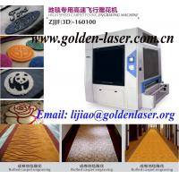 Quality Auto Feeding Roll Carpet Engraving Laser Equipment for sale
