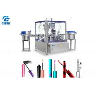 Quality Rotary Type Automatic Cosmetic Filling Machine PLC Control 1-30ml Capacity for sale